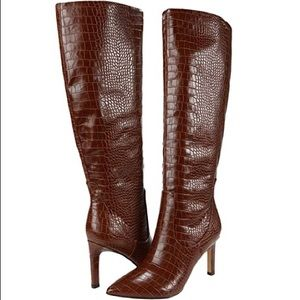 Nine West Brown Knee High Boots! NWT!